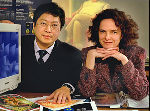 Photo of Wang and Volkow