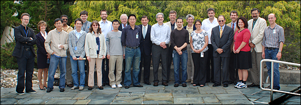 The speakers, award winners, and organizers of the 2009 RHIC & AGS Users Meeting.