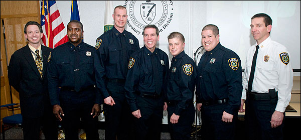 New Police Officers