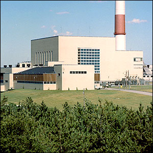 Photo of the Brookhaven Graphite Research Reactor