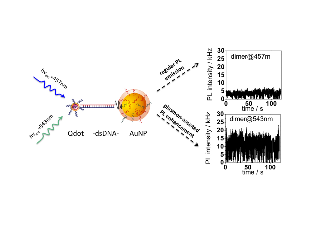 Nanoparticles Increase Intensity Of Quantum Dots Glow Bnl Newsroom
