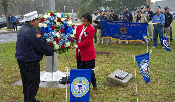 Veterans' Day ceremony