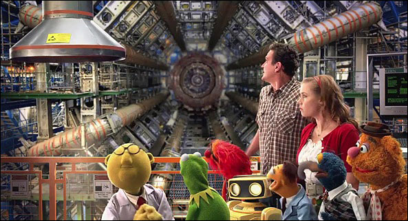The Muppets at the Atlas Detector