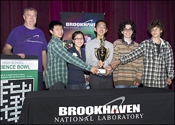 2011 Regional Science Bowl winners