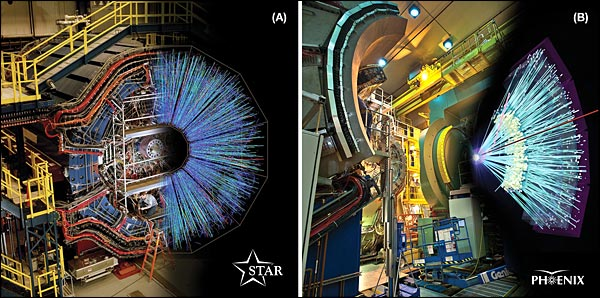 RHIC's two large experiments