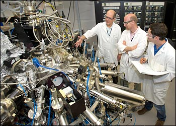 molecular-beam epitaxy machine