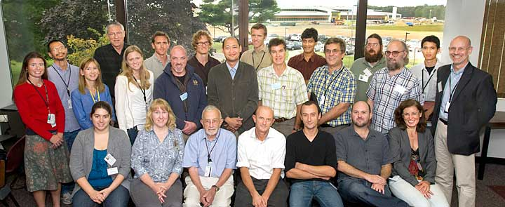 Participants at the Rock & Cell Workshop