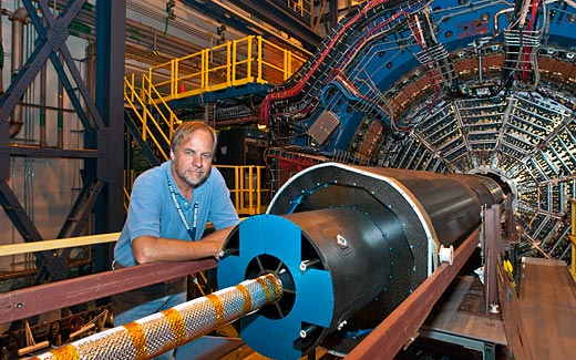 Researcher at RHIC's STAR detector