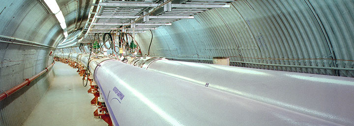 RHIC magnet tunnel