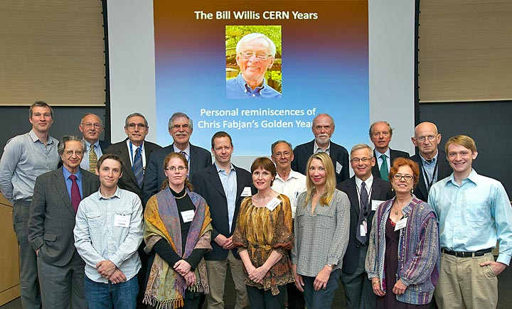 Bill Willis symposium attendees