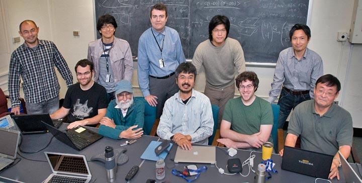 high-energy physics theory group
