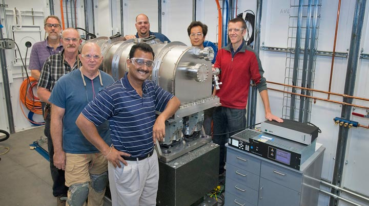 X-ray Powder Diffraction beamline team