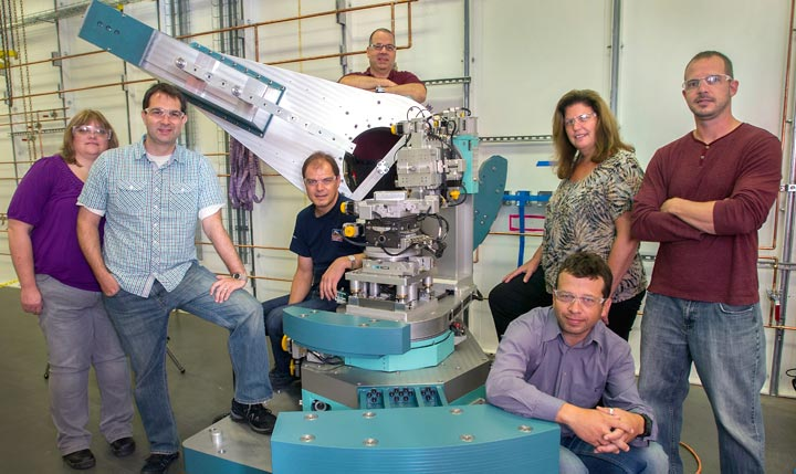 Coherent Hard X-ray beamline team