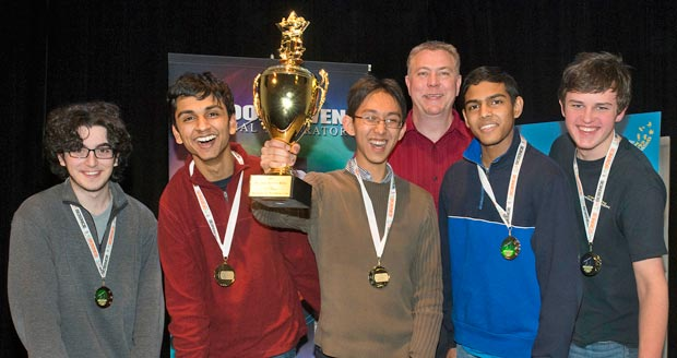 Ward Melville High School Science Bowl team