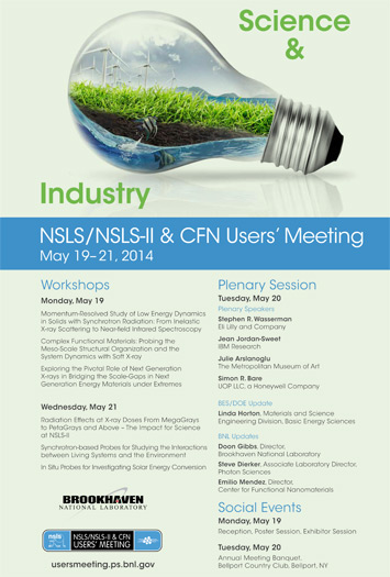NSLS/NSLS-II & CFN Users' Meeting