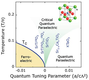 quantum critical ferroelectrics