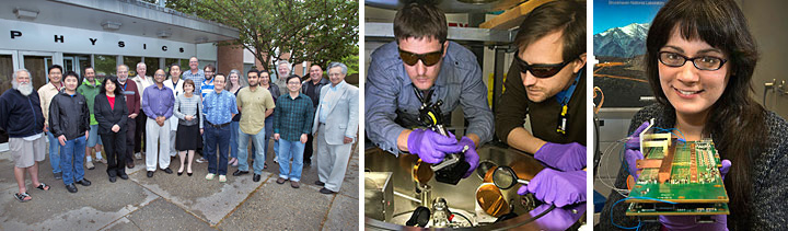 Brookhaven's contributions to high energy physics research.