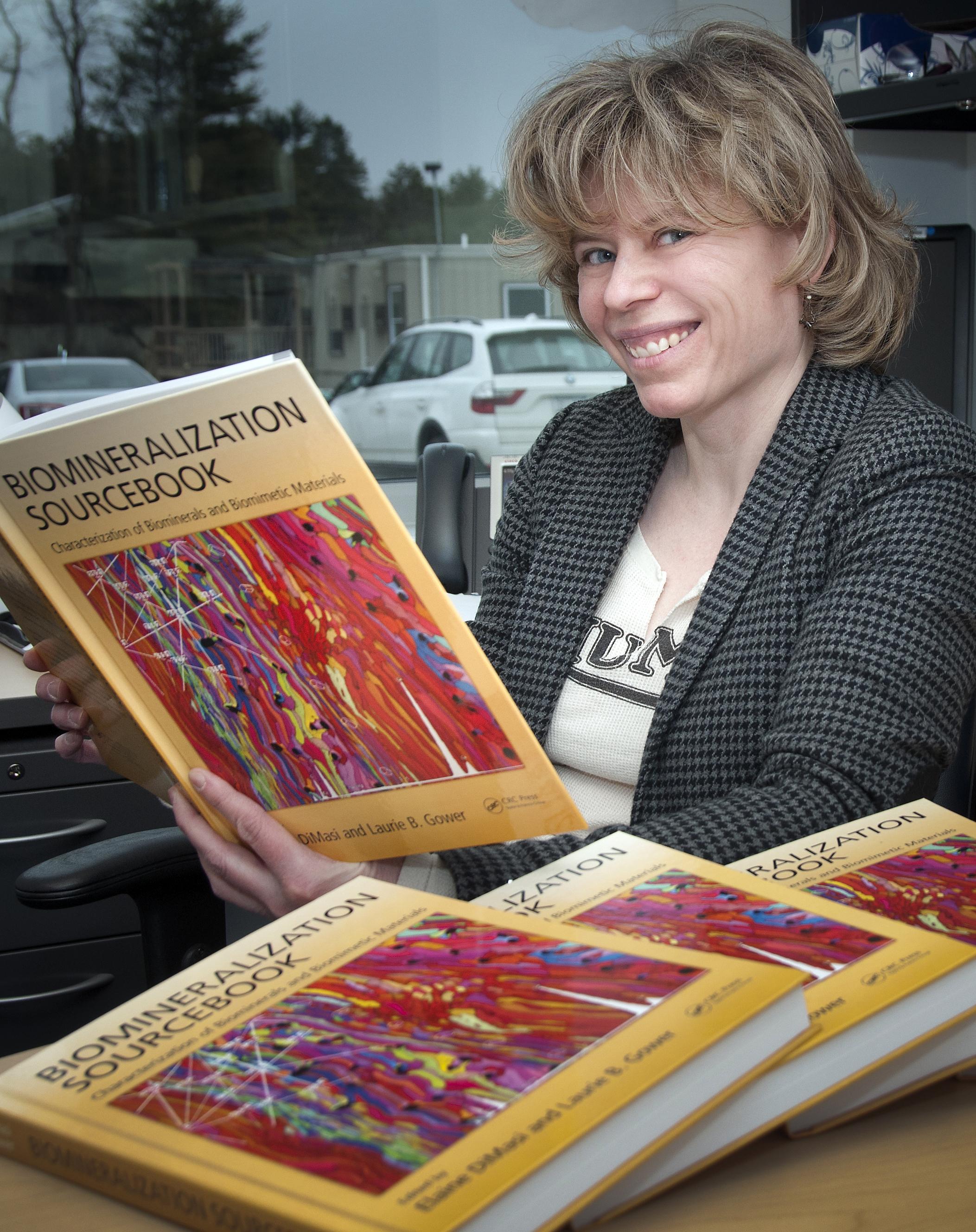 Brookhaven Physicist Elaine DiMasi Edits Book on Biomineralization ...