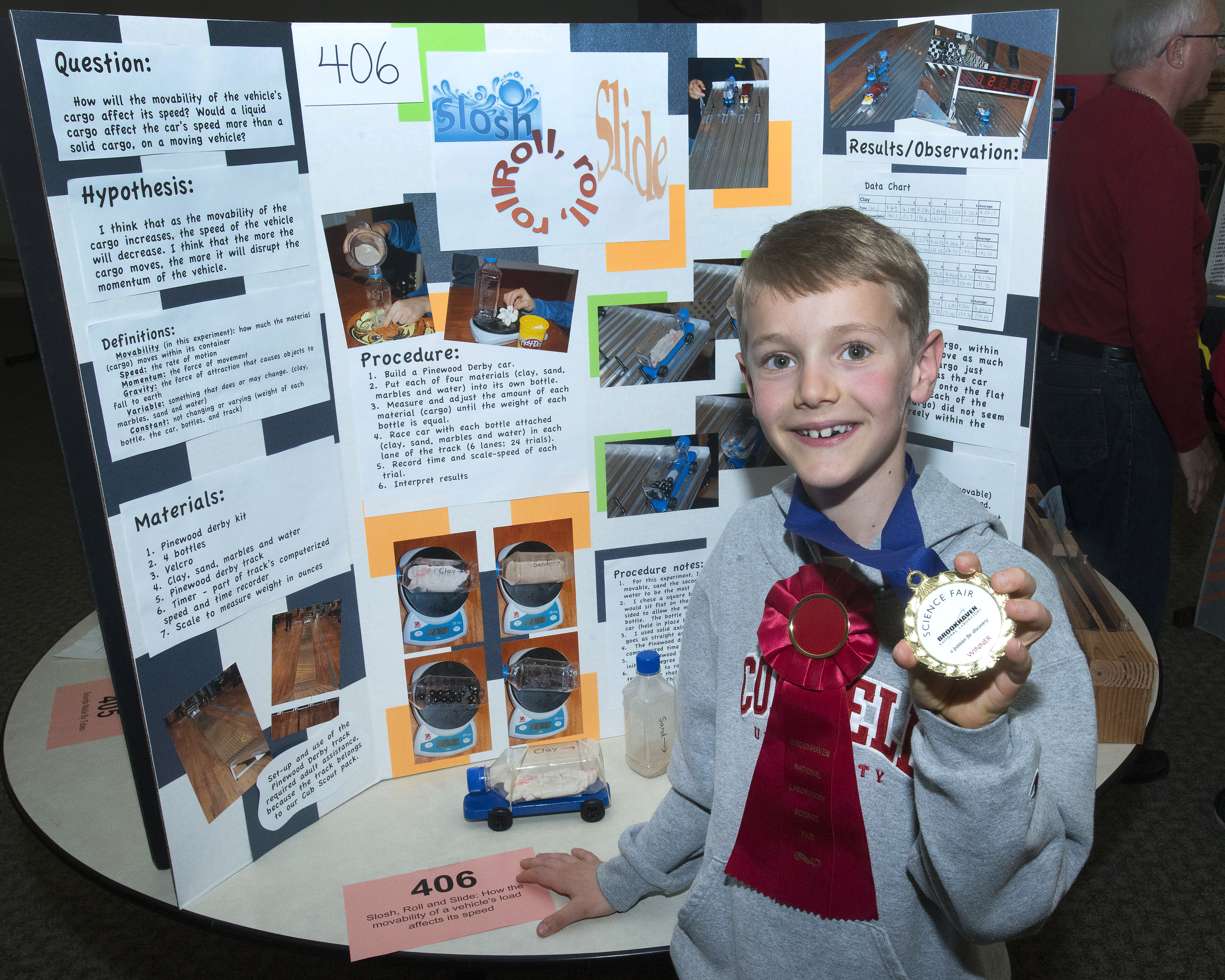 Winning Projects At Brookhaven Labs 2014 Elementary School Science