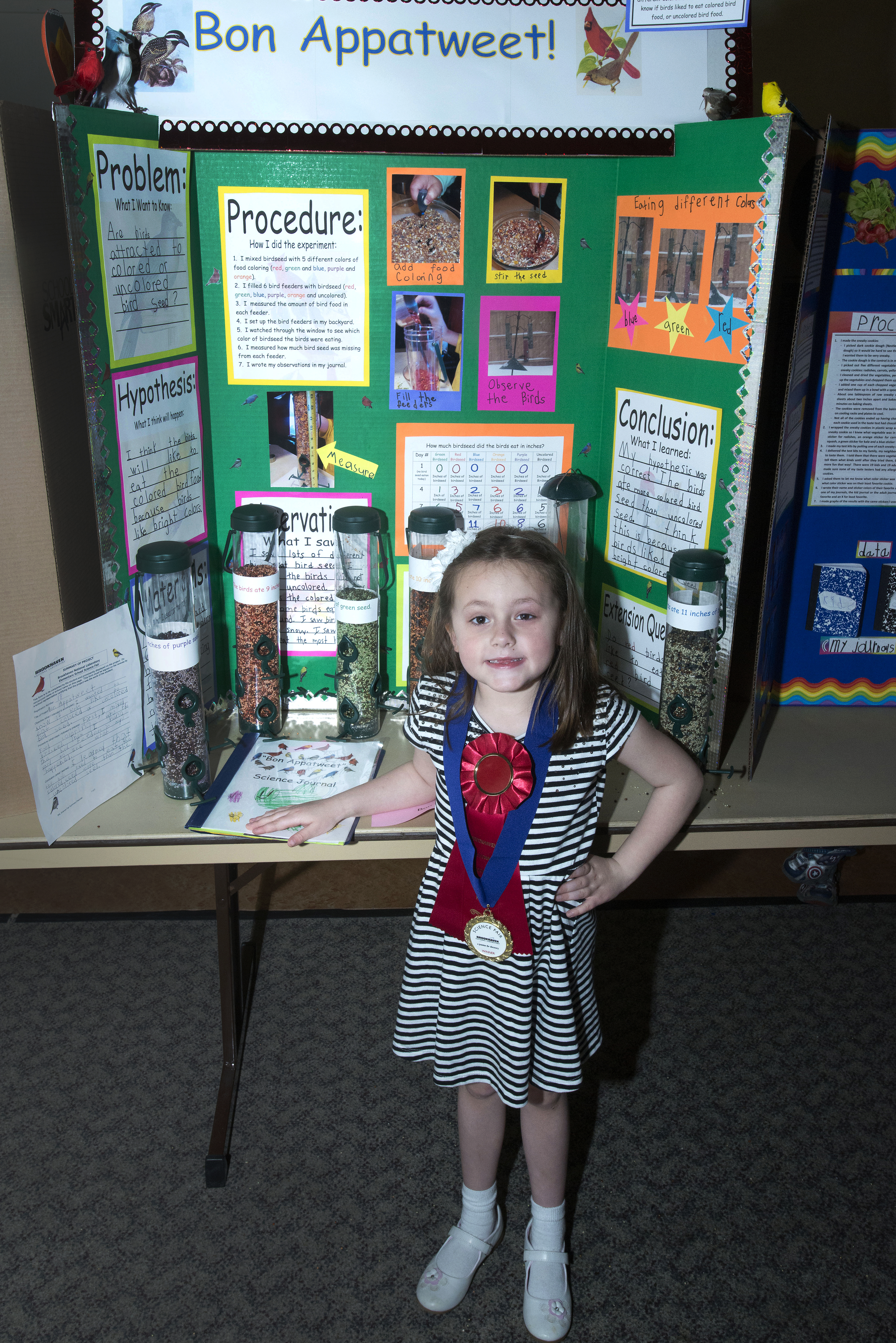 winning projects at brookhaven lab's 2014 elementary school science