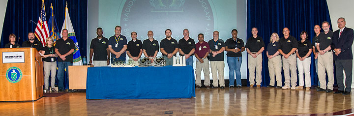 Members of the Region 1 Radiological Assistance Program (RAP) team