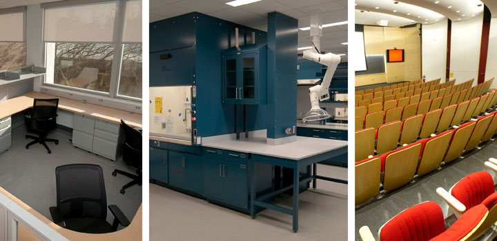 Renovate Science Labs II projects