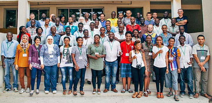 2014 African School of Fundamental Physics and its Applications participants
