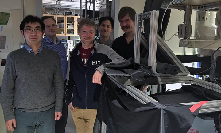 members of the MIT team