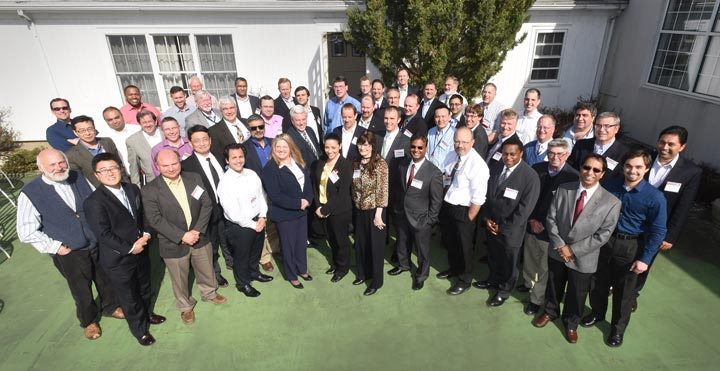 Participants in the recent Resilient Smart Grid workshop
