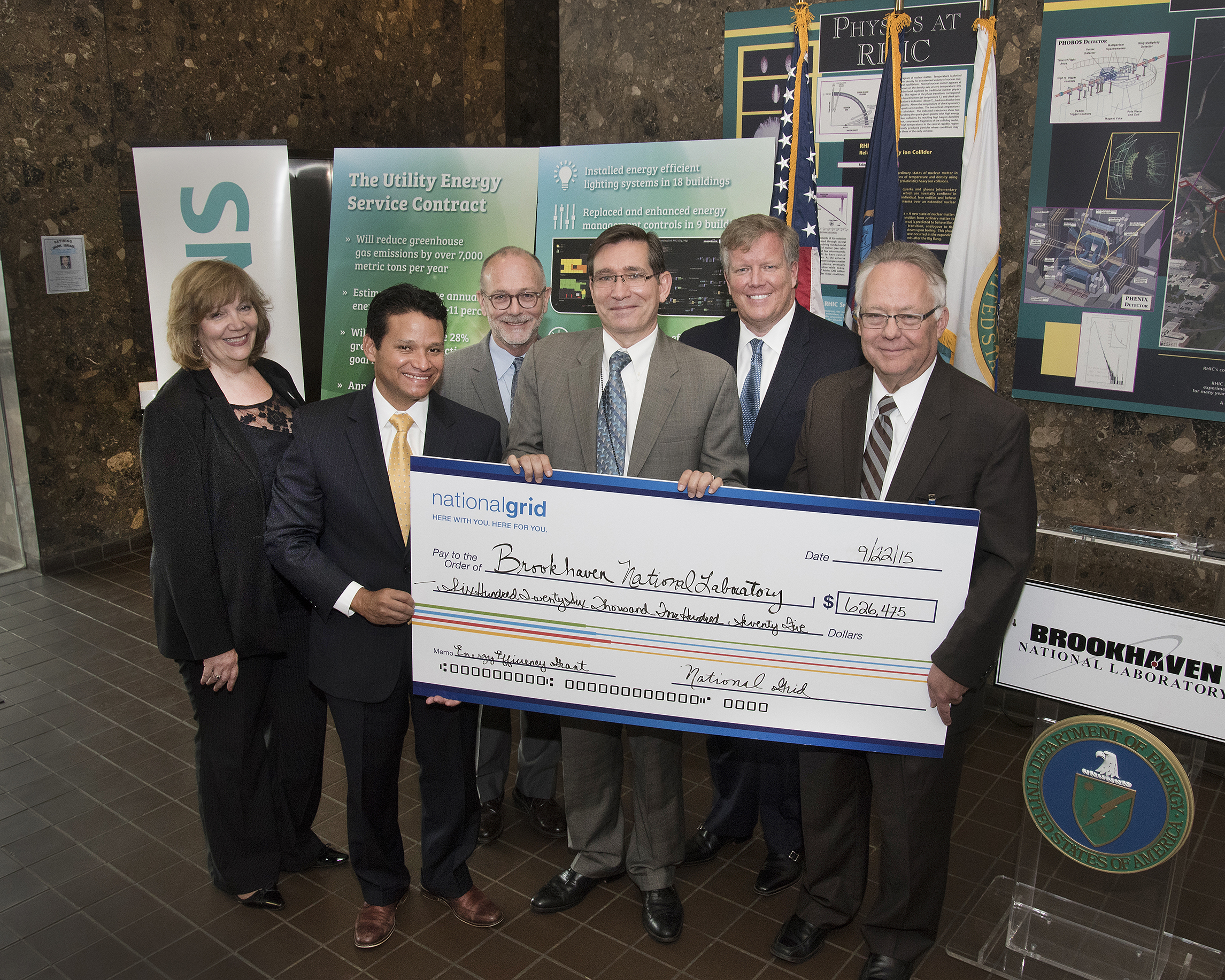 Department Of Energy National Grid And Siemens Complete