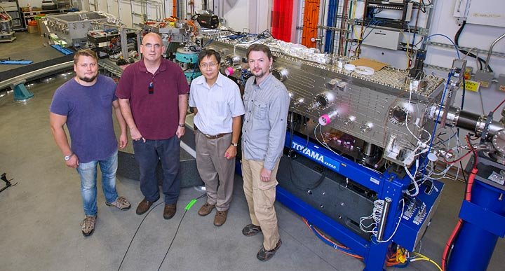 IXS beamline team