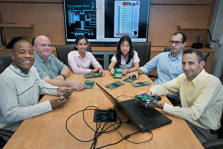 The cold microelectronics design team