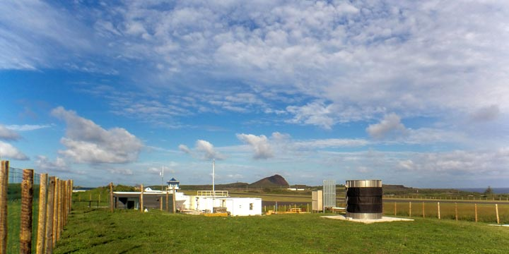 ARM's Eastern North Atlantic observation facility on Graciosa Island in the Azores