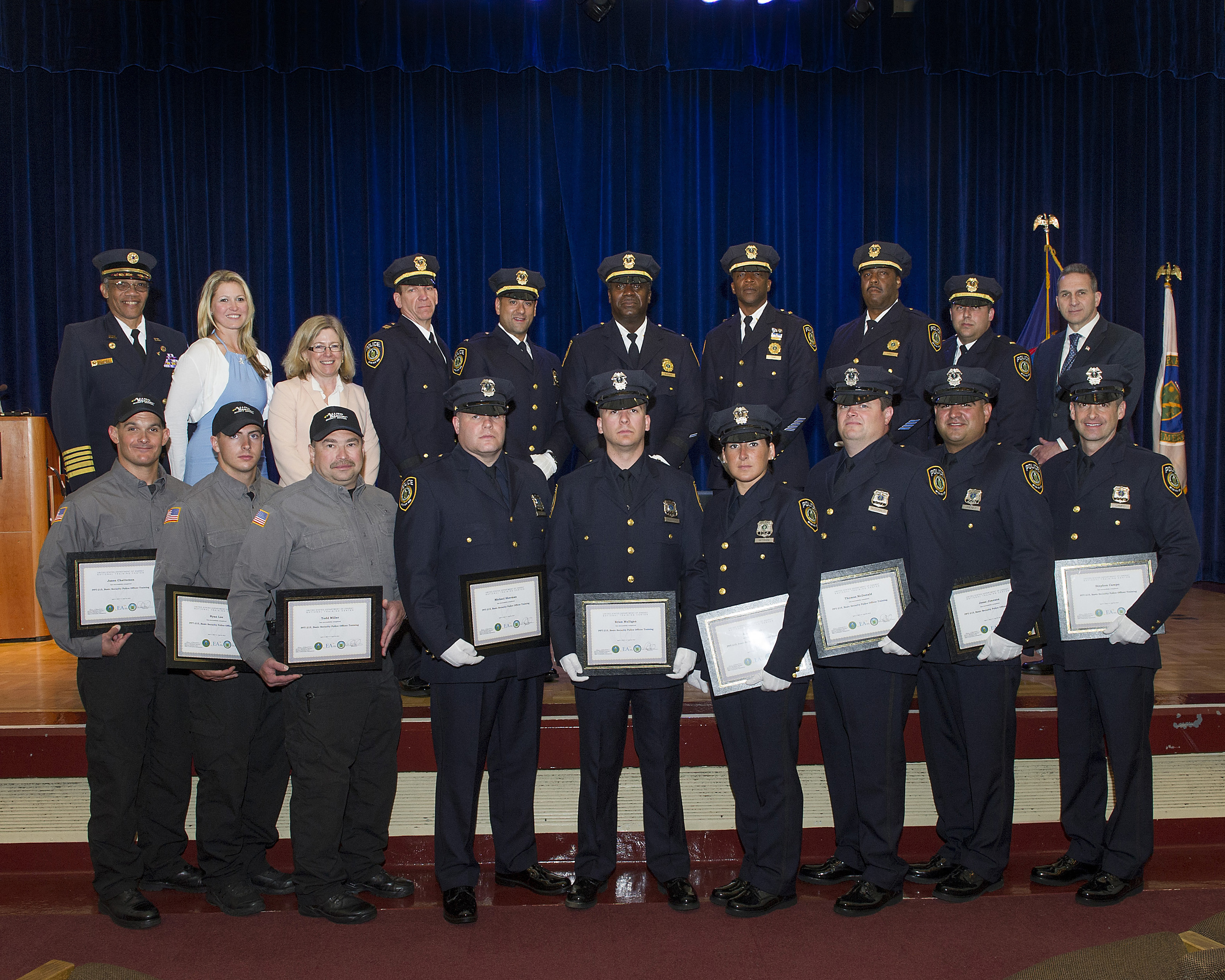 Meet the New Security Police Officers   BNL Newsroom