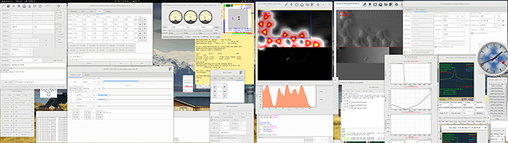 GXSM Software Screenshots