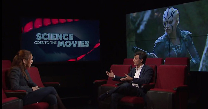 Vinod Menon talks with CUNY's Science Goes to the Movies