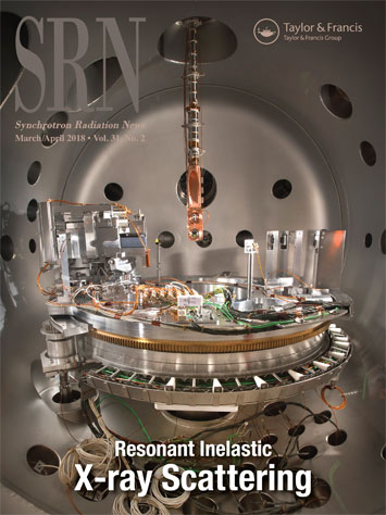 March/April cover of Synchrotron Radiation News