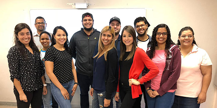 Students from the University of Puerto Rico