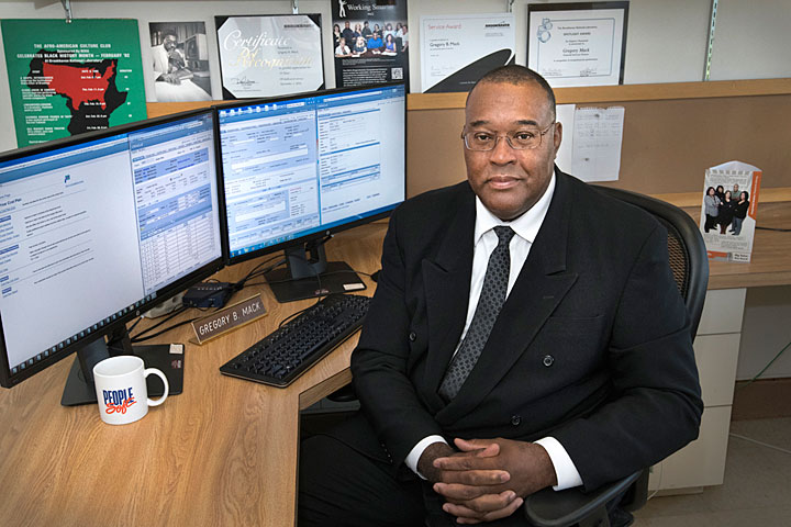 Gregory Mack, Information Technology Division