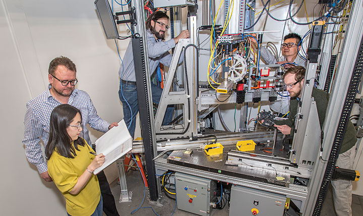 NETL researchers studying the chemical conversion