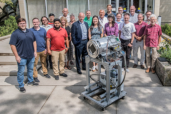 Members of the LSST project team