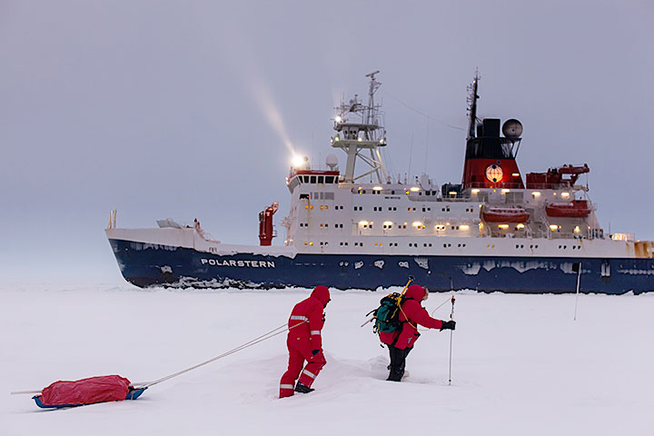 The RV Polarstern will set sail from Norway for a yearlong mission locked in the Arctic ice to collect unprecedented data about the Arctic climate.