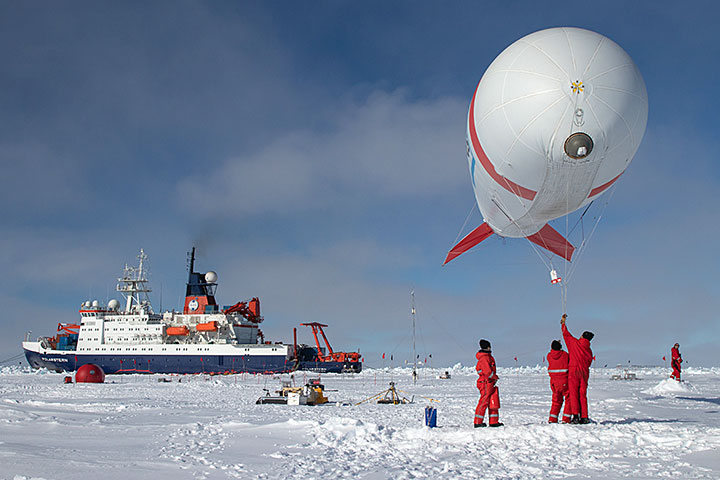 The German icebreaker RV Polarstern