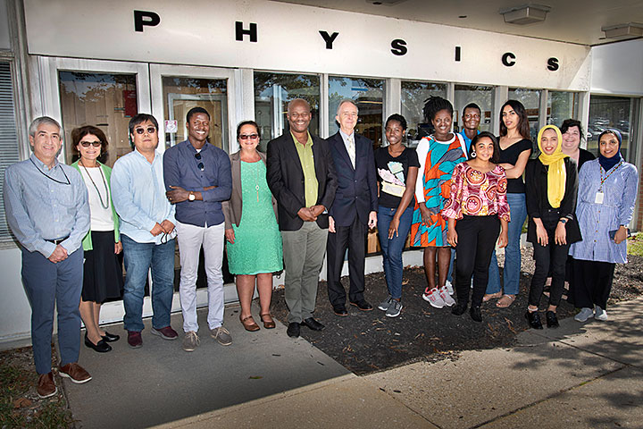 alumni from the African School of Physics