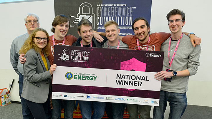 University of Maryland, Baltimore County, is the national winner of the 2019 CyberForce Competition