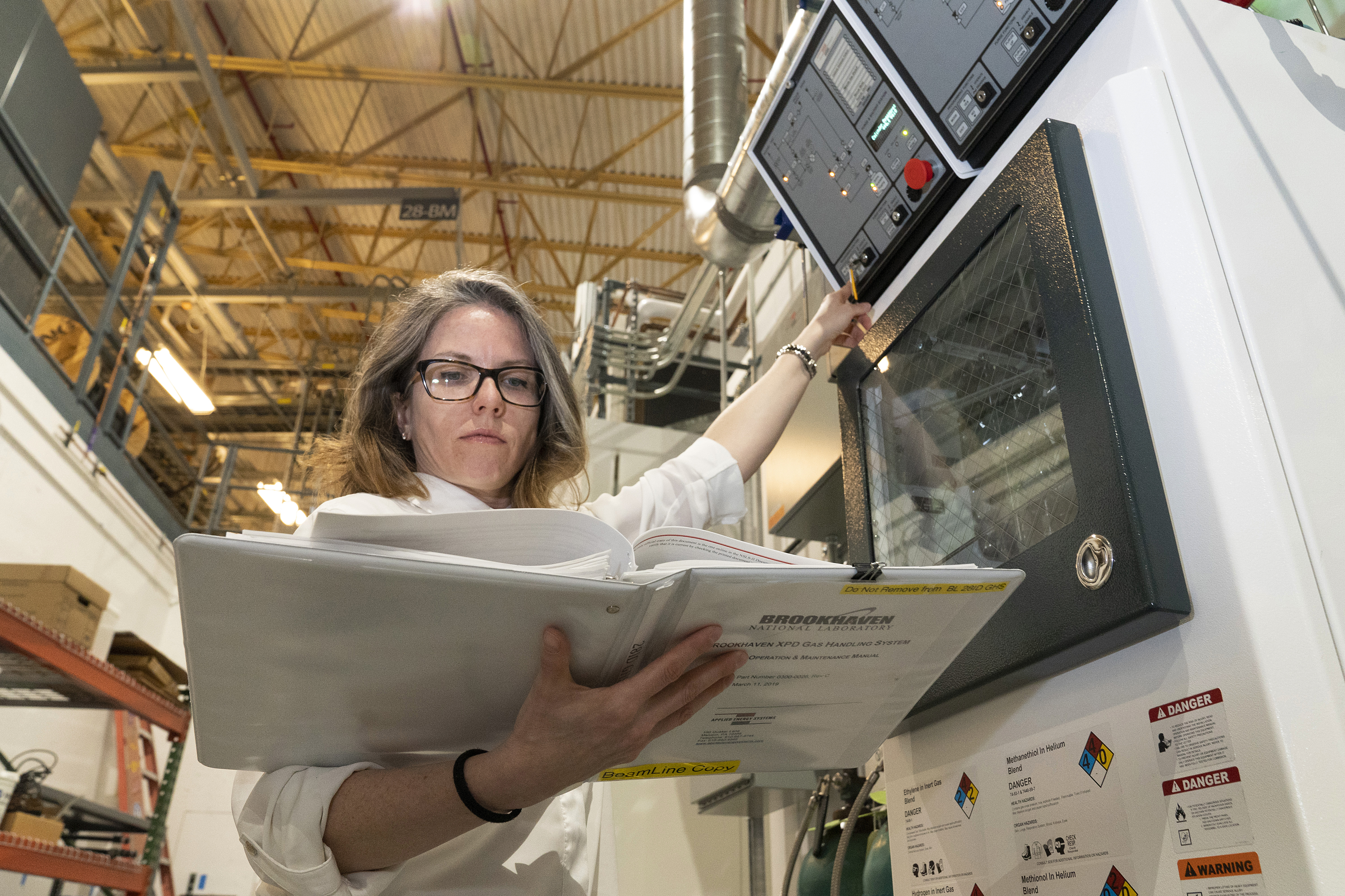 Christine Ali oversees the needs of all the laboratories at Brookhaven's National Synchrotron Light Source II, manages two large multipurpose chemistry labs, and is the system expert for several gas-handling systems that enable cutting-edge research at this facility.