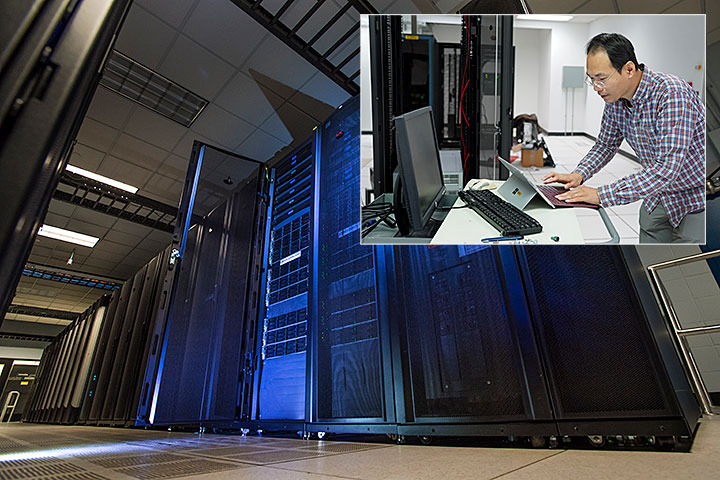Scientist are using supercomputing resources at Brookhaven
