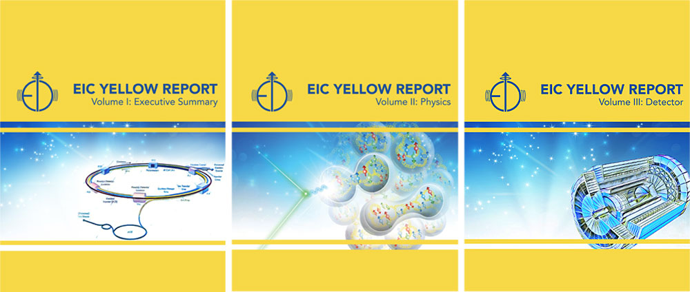 EIC Yellow Report Volume Covers
