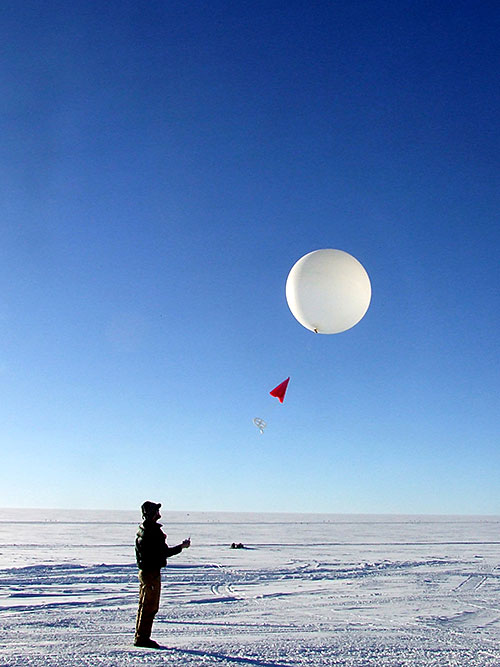 Weather balloons launched throughout the study period provided data on local temperature, humidity, and other atmospheric conditions. By matching those data with Doppler radar measurements that are sensitive to the size, shape, and movement of ice and water particles in clouds, scientists were able to identify the conditions responsible for explosive ice multiplication events.