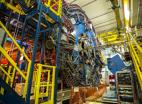 Photo of STAR detector at the Relativistic Heavy Ion Collider